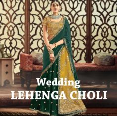 THE INDIAN BRIDAL LEHENGA CHOLI