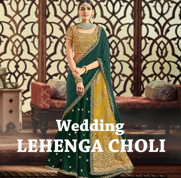 THE INDIAN BRIDAL LEHENGA CHOLI