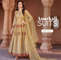 Yellow Indian Anarkali Suit Collection