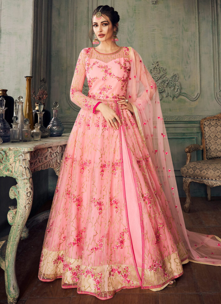 Embroidered Anarkali Collection